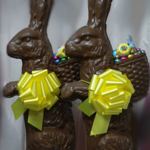 3 Ft. 20 Pound Chocolate Easter Bunny