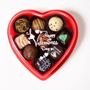 Heart Shaped Truffle Box