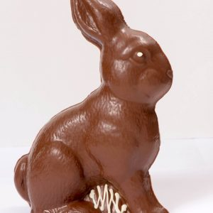 Large Hollow Sitting Easter Bunny