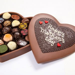Chocolate Heart Box X-Large