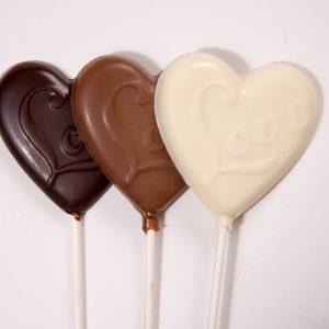 "Valentine Heart Lolli's ""I Love You"""