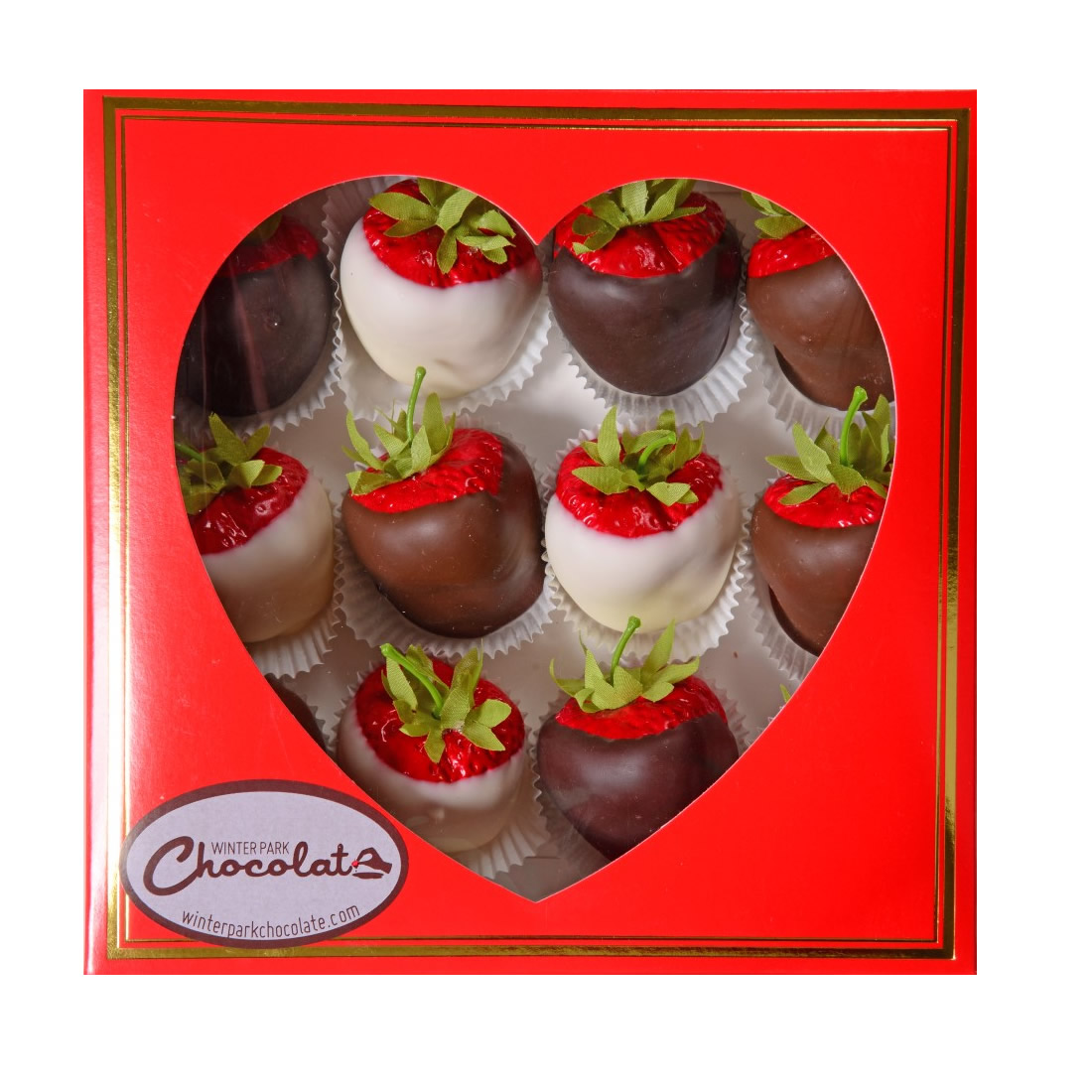Chocolate Covered Strawberries Box Large