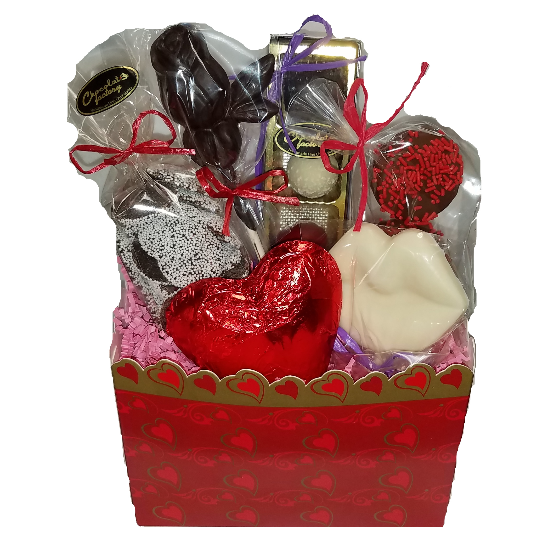 Valentine gift basket chocolate assortment maitland chocolate valentine gift basket chocolate assortment negle Image collections