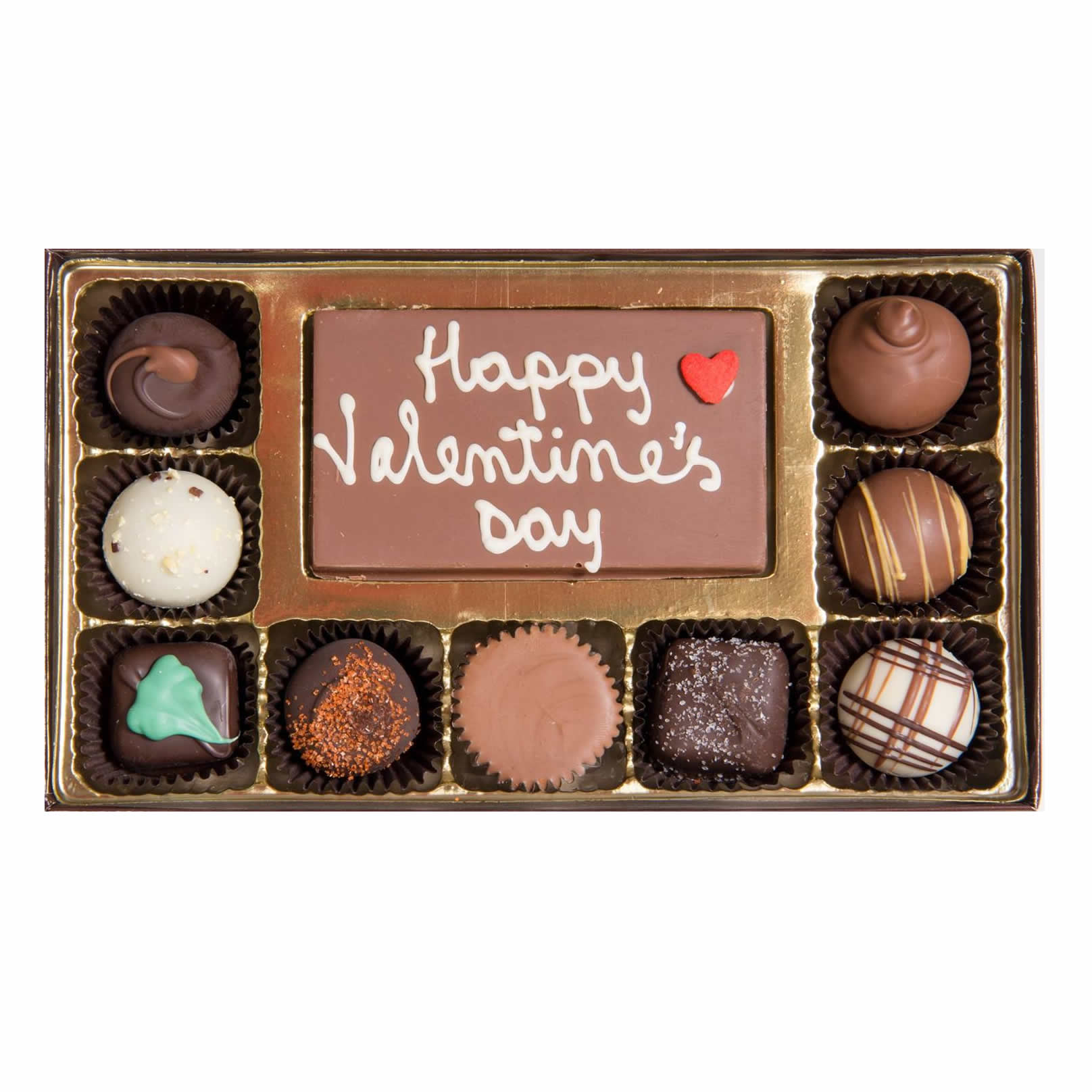 Valentine's Day Chocolate Message Gift Box Medium