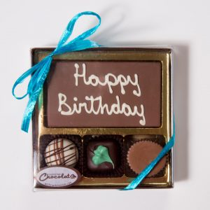 Birthday Assorted Truffle Message Box Small